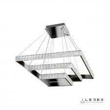 <b>Подвесная люстра</b> iLedex <b>Crystal</b> ice MD7212-105B CR / iLedex.RU