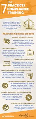 ethics in the workplace ways to build and maintain an ethical creating a good compliance training program infographic