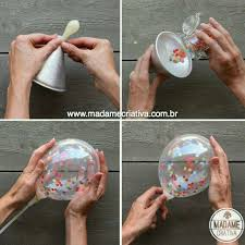 Pin <b>de</b> Mariana <b>De</b> en creatividad en 2019 | <b>Globos confeti</b>, <b>Globos</b> ...