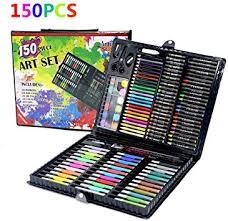IMCROWN <b>150pcs Children's Drawing Painting</b> Sketching Tools <b>Set</b> ...