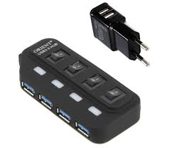 <b>Хаб USB Orient</b> BC-306PS USB 4 ports — купить в интернет ...