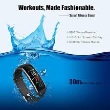 <b>C20 Smart Wristband</b> Heart Rate Monitor Weather Message Activity ...