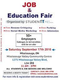 job education fair tickets sat 17 sep 2016 at 11 00 am tags