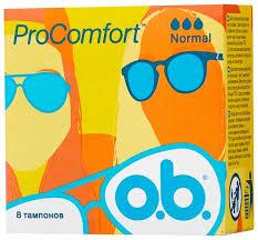O.b. <b>тампоны</b> ProComfort Normal — купить по выгодной цене на ...