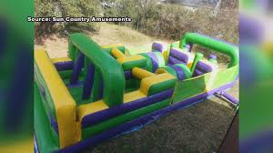 thief ruins kids party after stealing inflatables com