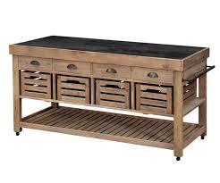 kitchen island reclaimed wood cart