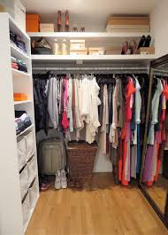 brown best lighting for closets
