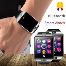 OLLLY <b>Newest Q18 Smart Watch</b> Bluetooth Smartwatch Phone with ...