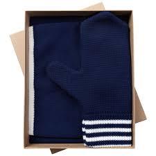 <b>Набор</b> Best: шапка, <b>шарф и варежки</b>, темно-синий (teplo 6768.40 ...