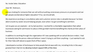 example for cover letter