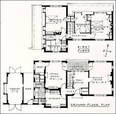 House Styles s House Floor Plans  s house plans     House Styles s House Floor Plans