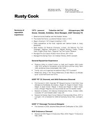 sushi chef resume examples slide objective professional summary     VisualCV