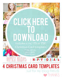 holiday card templates best template design christmas photoshop templates pictures to pin t44ir7lz