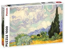 <b>Пазл Piatnik Винсент</b> Ван Гог Пшеничное поле с кипарисами ...