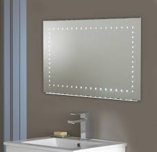gray stain wall frosted glass brilliant bathroom mirror lights