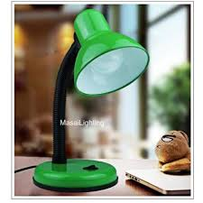 <b>E27</b> Desk Table Lamp for study office with Red/Green body FOC ...