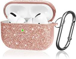 AirPods Pro <b>Case Luxury</b> Glitter <b>Protective Cover</b> for: Amazon.co.uk ...