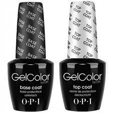 <b>OPI GelColor</b> Top Coat + <b>Base</b> Coat | Universal Nail Supplies
