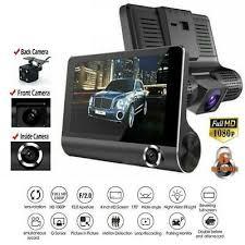 4'' HD 1080P <b>3 Lens Car</b> DVR <b>Dash</b> Cam <b>Vehicle</b> Video Recorder ...