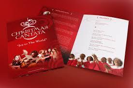 christmas cantata bi fold program templ design bundles christmas cantata bi fold program template example image 3