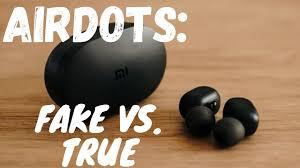 <b>Redmi Airdots</b> FAKE vs REAL - How to identify - Fake <b>Redmi Airdots</b> ...