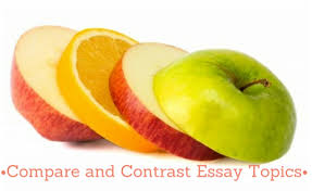 compare and contrast essay topics trustessaywritingcom comparecontrast essay  its all about organization