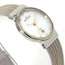 Женские <b>часы Skagen</b> Mesh Classic <b>355SSGS</b>