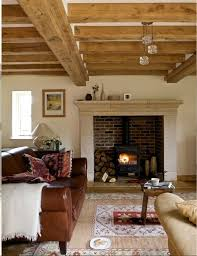 rustic style living room clever: wood stove area in fireplace so clever where does the wood stack mine