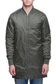 <b>Куртка URBAN CLASSICS</b> Long Bomber <b>Jacket</b> (Olive, S) | www.gt ...
