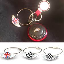 <b>1pc</b> Stainless Steel Key Chain Keychain Key Ring Keyring <b>For Mini</b> ...