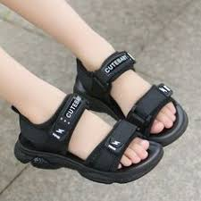 <b>Boys sandals 2019</b> new male big children Korean version of ...