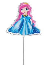 <b>Action</b>! <b>Шар фольгированный</b> на палочке Принцесса — купить в ...