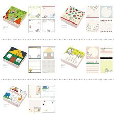 smartzakka rakuten global market shinji kato block memo cute illustrations painted in gentle pastel tones of paper is what plenty of 300 pieces whole house can be used in places