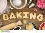 Images & Illustrations of baking
