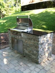 Countertop For Outdoor Kitchen Outdoor Appealing Stone Outdoor Kitchen Design With Marble