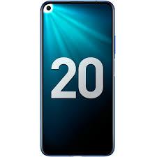 Купить <b>Смартфон Honor 20</b> 128Gb Sapphire Blue (YAL-L21) в ...