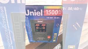 <b>Стабилизатор напряжения uniel</b> 1500 купить в Янине-1 ...