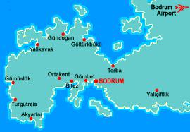 Image result for bodrum haritası