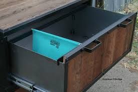 modern industrial file cabinet reclaimed vintage wood filing cabinet modern home cabinets modern home office