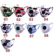 5PIECES <b>ADULT FACE MASK</b> MANY PATTERN COLOR ...