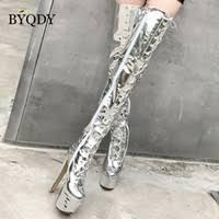 Discount Over Knee <b>Ultra High Heel</b> Boots