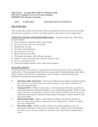 arnita fishman s blog accounts receivable resume account receivable job description