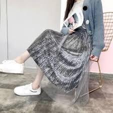 Women luxury <b>gradient</b> sequined <b>skirt</b> ladies <b>elegant</b> casual work ...