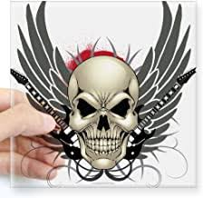 Skull and Wings Stickers - Amazon.co.uk