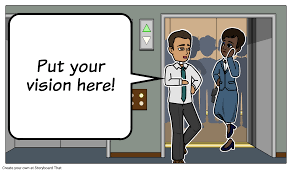 elevator pitch storyboard template storyboard by aaron sherman