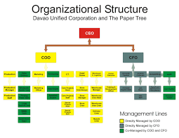 essay on organizational structure