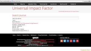 international journal of renewable energy research ijrer ranks