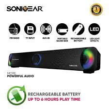 Buy SonicGear <b>BT300</b> PRO <b>Bluetooth Sound</b> Bar with FM Radio ...