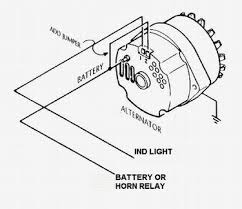 gm 3 wire alternator idiot light hook up hot rod forum on 4 wire trailer light diagram ford