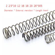 2pcs <b>Stainless</b> steel pressure spring Y type <b>compression spring</b> Line ...